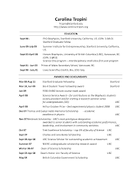 resume section headings