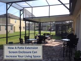 how a patio extension screen enclosure