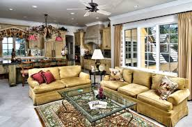 velvet french country sofa with persian rug and glass top table for living room decoration ideas
