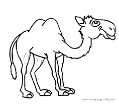 Small Picture Camel Coloring Page Camel Free Printable Coloring Pages Animals