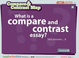 technology for teachers a compare contrast essay map for using the template students are guided through writing three styles of comparison essays to get started students identify