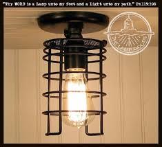 industrial inspired lighting. Industrial Inspired Auburn Ceiling LIGHT With Edison Bulb Lighting