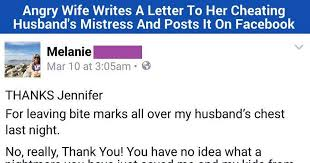 Wife Writes A Seriously Angry Letter To The Other Woman This Is