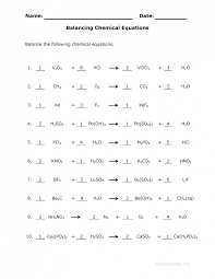 word equations worksheet answers semnext good looking balance chemical equations worksheet 3 answer key science