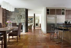 saltillo tile home depot rustic style for dining room with