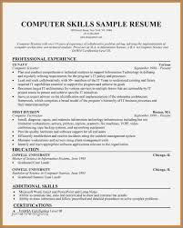 Technical Skills In Resume Simple Example Of Resume Technical Skills New Technical Resume Skills