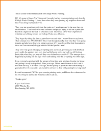 9 College Admission Recommendation Letter Template Graphic Resume