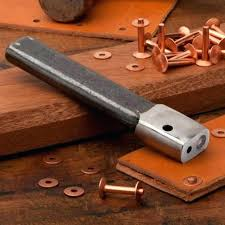 hearth tool leather rivet tool setter copper rivets by wade hearth set kit hobby lobby pleasant