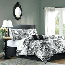 black white damask duvet comforter sets