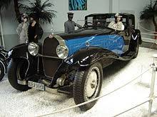 «jean bugatti in front of the only roadster version of the bugatti type 41 royale, the car he…» Bugatti Royale Wikipedia