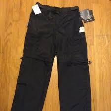 Dark Grey Cabelas Convertible Pants Small Nwt
