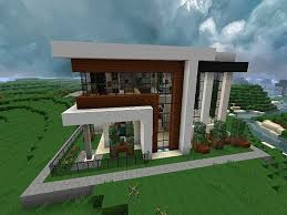 Small Picture Modern house minecraft plans