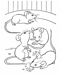 Small Picture Farm animal coloring page Mice eating cheese Party on the Farm