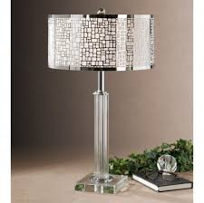 accent lamps floor lamp shades purple lamp crystal glass table bedside lamps black crystal