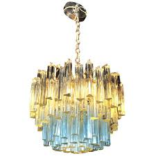 blue murano glass chandelier glass chandelier with white and blue crystals at for amazing household crystal