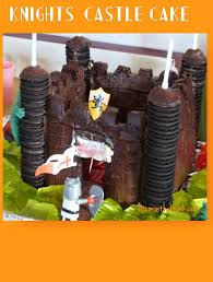 Medieval Castle Cake Designs How To Make A Knights Castle Cake Super Easy Mum On The