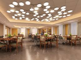 Cafeteria Lighting Design Lighting Emphasized In Dementia Care Facilities Thw Design