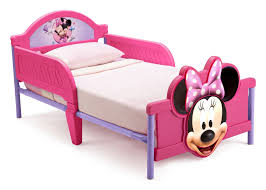 Minnie Mouse Plastic 3D Toddler Bed