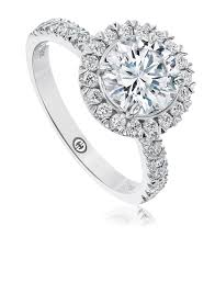Christopher Designs Halo Engagement Ring Engagement Ring Setting By Christopher Designs L105 Rd150