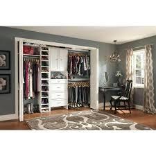 incredible closet home depot in white custom organizer closetmaid suite symphony