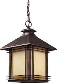 Outdoor  Modern Outdoor Lantern Light Clear Glass Top Lighting - Hanging exterior lights