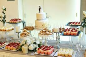 wedding table decorating dessert buffet recipes cake