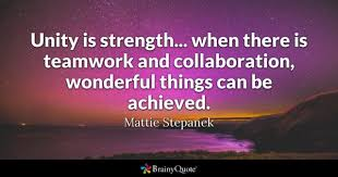 Quotes About Teamwork Simple Teamwork Quotes BrainyQuote