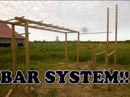 DIY Pull Up Bar Less Than 50  YouTubeBackyard Pull Up Bar Plans