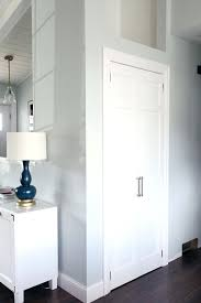 tall bifold closet doors closing off the coat closet from bi fold door to hinged swing tall bifold closet doors