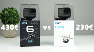 Gopro Hero 2018 Vs Hero6 Black Side By Side Comparison