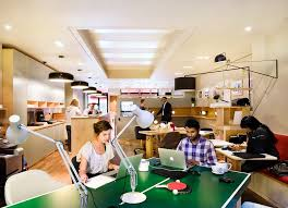 funky office design. Office Work Space. Central Working Space Funky Design W