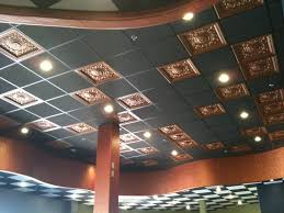 How To Install Decorative Ceiling Tiles Faux Copper Drop Ceiling Tiles ElkGrove California Decorative 50