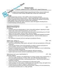 Prototype Test Engineer Sample Resume Industrial Engineer Resume New Section Download Engineering Samples 18