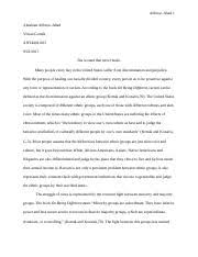ant university of south florida course hero 6 pages abraham alfonsoant essay docx