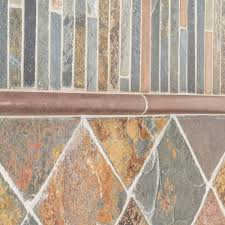 jeffrey court satin copper 11 5 in x 12 in x 8 mm copper