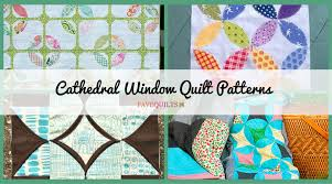 12 Cathedral Window Quilt Patterns | FaveQuilts.com &  Adamdwight.com