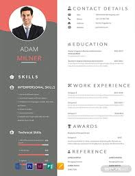 Modern Resume Sheet 91 Free One Page Resume Templates Word Psd Indesign