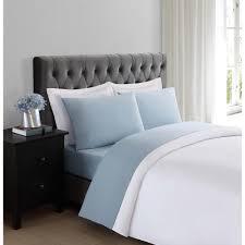 truly soft everyday light blue twin xl sheet set