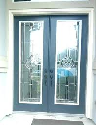 replace glass panels in front door replace door glass insert replace glass insert front door panels