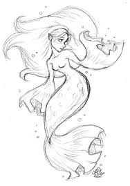 Small Picture Printable Coloring Pages Of Mermaids