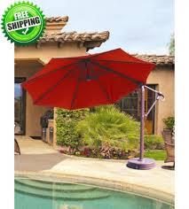 11 ft cantilever patio umbrella with base costco probably