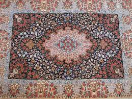 superfine ilam wool silk silk foundation rug