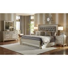 king bedroom sets. Simple Sets Traditional Champagne 6 Piece King Bedroom Set  Diva  RC Willey Furniture  Store Intended Sets T