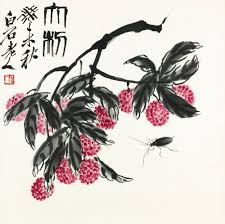 qi baishi lychee and in flowers birds sotheby s hk0659lot95nxjen