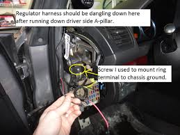 dash cam install hardwired diy subaru legacy forums click image for larger version 12 jpg views 6570 size 364 0