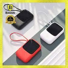 Pin sạc dự phòng tích hợp cáp sạc Baseus Q Pow Digital Display 10.000mAh