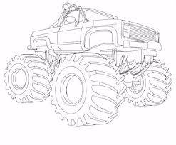 7 Kleurplaten Monster Trucks Sampletemplatex1234 Resume Simple