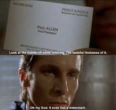 American Psycho Quotes New American Psycho Christian Bale Quote American Psycho Pinterest