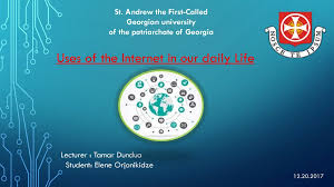 Role of internet in our daily life essay