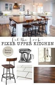 Get The Look Fixer Upper Kitchen House Of Hargrove
